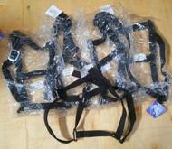 Pack of 5  Economy Nylon Black Head Collar