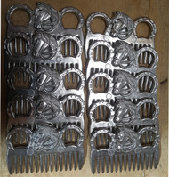 Set of 10 Horse Aluminium Tail Mane Combs