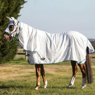 Flag Horse Rug with Hood Set