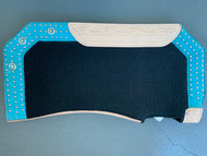 Unicorn Turquoise Blue Western Saddle Pad