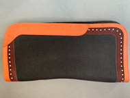 Unicorn Orange Western Saddle Pad 32""