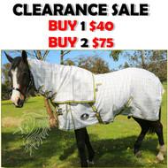 Ripstop Cotton Detachable Neck Show Horse Rug