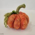Needle Felting a Fairy Tale Pumpkin