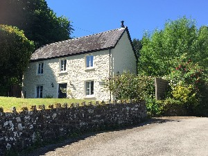 Tintern Abbey Cottage view from Driveway