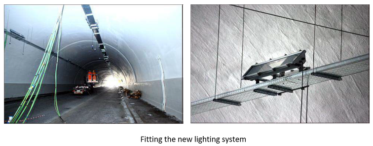 Fitting the Tunnel with Improved Lighting