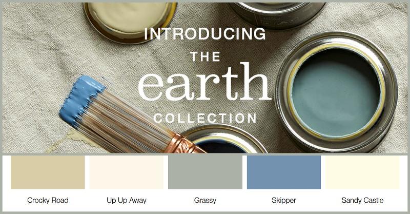 Earthborn Paint New Colours 2020