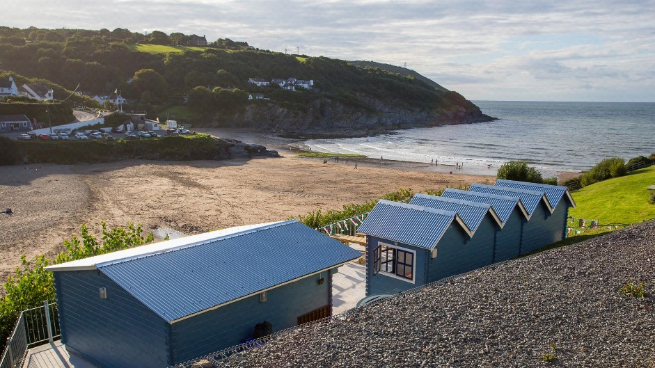 The Cwtch Aberporth Summer House Paint