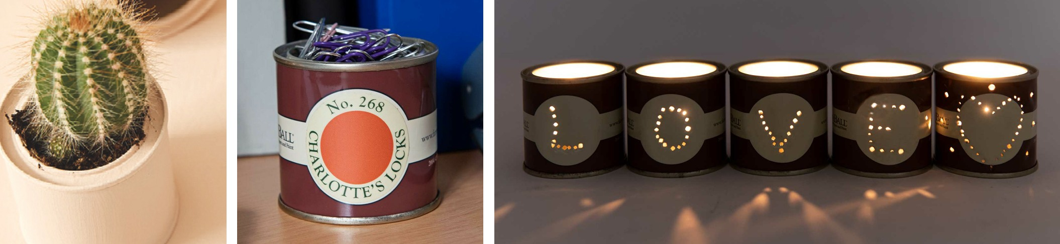 Ways to Upcycle Paint Tins