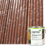Osmo WR Base Coat helps protect wooden decking.
