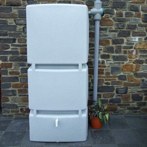 3P Wall Tank (Granite) - 800 Litre