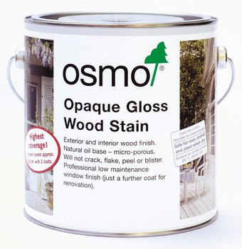 Osmo Opaque Gloss Wood Stain (2.5l).