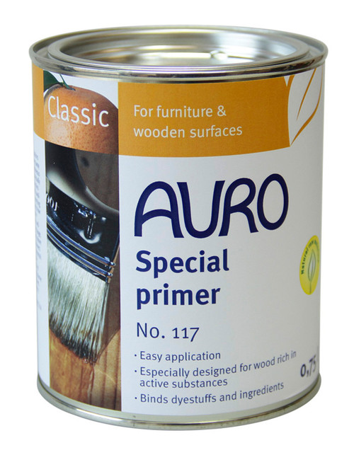 Auro 117 Special Woods Primer (750ml)