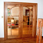 Osmo Door Oil 3060 applied to the solid european oak doors by Made In Northumberland.