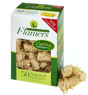 Flamers - 50 Natural Firelights