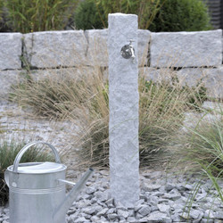Watering Post - Natural Stone (Granite)