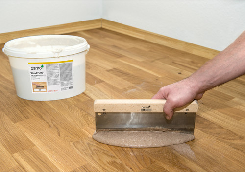 Osmo Wood Putty Parquet Flooring Gap Filler.