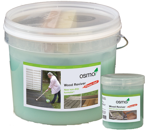 Osmo - Wood Reviver Power Gel available in two sizes.
