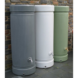 Column Water Butt - 300 Litres group (no longer availabe in light grey - middle).