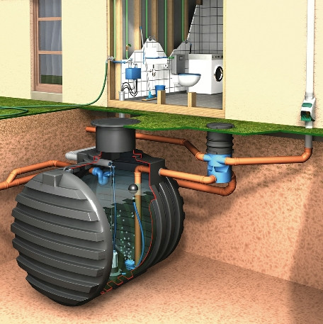 3 filters in this kit cover are part of a professional rainwater cleaning system.