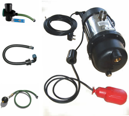 Garden Irrigation Kit for above ground rain water tanks  - filter options available.