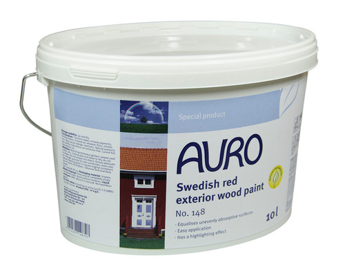 Auro 148 Natural Red Cabin Paint (10l)