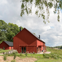Auro 148 Swedish Red Timber Paint on Lindeborgs Eco Retreat