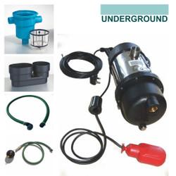 Garden Irrigation Kit for underground rain water tanks - GIKITU