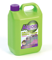 Algon Organic Block Paving Cleaner, Path and Patio Cleaner Concentrate
