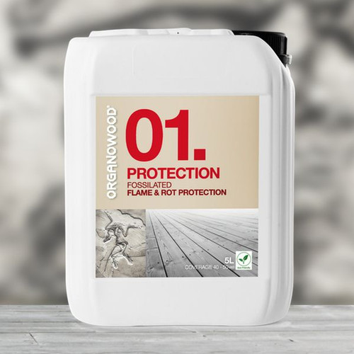 Organowood 01. Protection Flame & Rot Protection (5L Container)