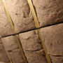Cosywool Natural Insulation Slabs installed between roof rafters.