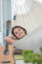 La Siesta - Modesta Latte Single Hammock Lifestyle