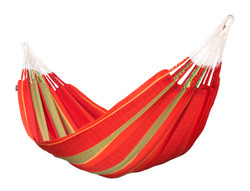 La Siesta - Flora Chilli - Kingsize Hammock in Organic Cotton
