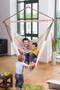 King Size Hammock Lounger indoors hanging from ceiling.