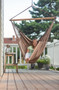 King Size Hammock Lounger outdoors.
