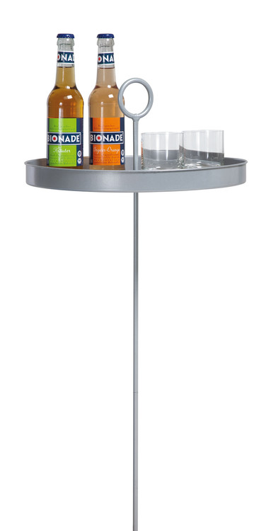 La Siesta - Mesero Hammock Table with bottles and glasses