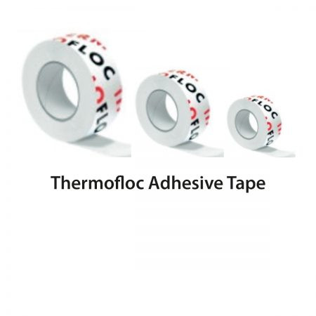 Thermofloc adhesive tape
