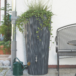 Alana Water Butt Planter - Slate Grey Finish