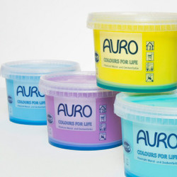 Auro 555 Washable Emulsion. Available in 80 colours.