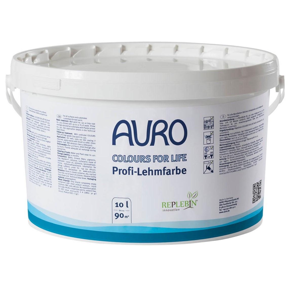 Auro 535 Coloured Clay Paint