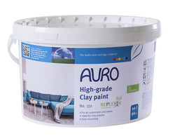 Auro 331 Natural Clay Paint - Wipeable, Preservative Free.