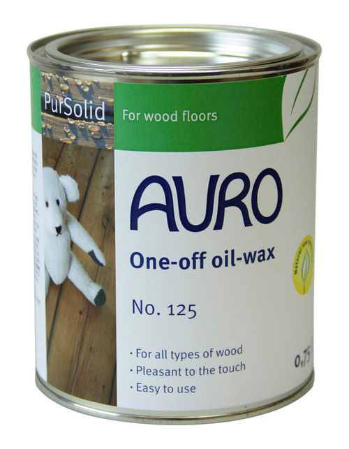Auro 125 Combined Natural Wood Oil Wax (750ml)