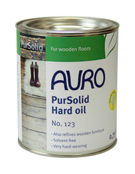 Auro 123 Natural Wood Oil. 750ml tin.