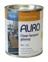 Auro 251 Clear Natural Varnish (750ml)