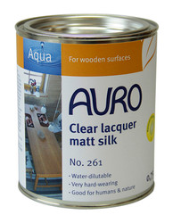 Auro 261 Satin Natural Varnish