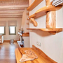 Auro 261 was applied to all the wooden furniture in this holiday home (wood was primed with Auro 117).