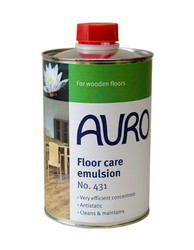 Auro 431 Natural Beeswax Wood Floor Cleaner (1l).