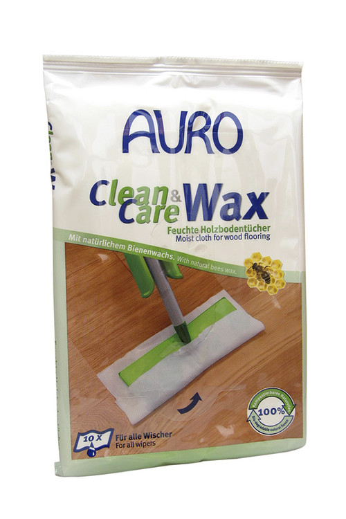 Auro 680 Natural Wet Wipes for Wooden Floors, furniture and worktops.