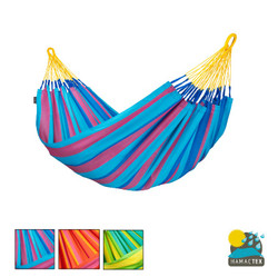 Sonrisa Single Hammock. Weather Resistant Hammock. Availablein 3 Colours.