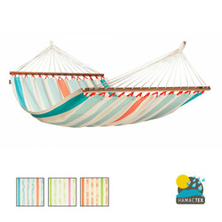 Colada 2 person Spreader bar Hammock from La Siesta. Weather Resistant Hammock. Available in 3 colour choices