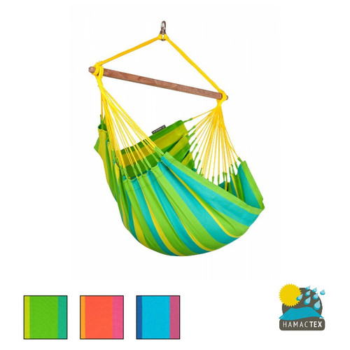 La Siesta - Sonrisa Weatherproof Basic Hammock Chair - 3 colours available